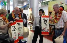TP.HCM đón hơn 1.000 khách quốc tế trong ngày đầu năm mới