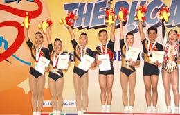Đoàn thể thao Việt Nam gặt hái lớn tại giải vô địch thể dục Aerobic châu Á lần thứ 5
