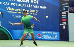 Khai mạc giải Quần vợt các cây vợt xuất sắc Việt Nam 2015