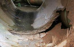 Đường ống dẫn nước sạch sông Đà về Hà Nội bị rò rỉ