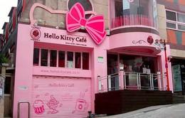 Khám phá nhà hàng Hello Kity đáng yêu