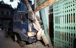 Hà Giang: Xe tải bị mất phanh, lao thẳng vào nhà dân