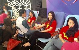 Cán bộ, công nhân viên Đài THVN tham gia hiến máu nhân đạo