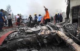 Rơi máy bay quân sự ở Indonesia: Do lỗi kỹ thuật?