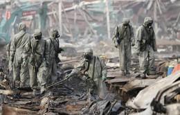 Bùng phát 4 đám cháy mới tại hiện trường vụ nổ ở Thiên Tân