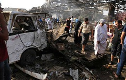 Iraq: Nổ bom xe, ít nhất 60 người thiệt mạng