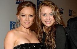 Hilary Duff ngưỡng mộ Miley Cyrus