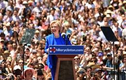 Bà Hillary Clinton bắt đầu chiến dịch tranh cử Tổng thống Mỹ