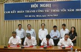 14 doanh nghiệp TP.HCM cam kết thoái vốn hơn 3.606 tỷ đồng