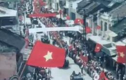 Những hình ảnh màu quý giá về Hà Nội ngày Giải phóng