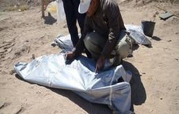 Iraq: Phát hiện 12 hố chôn 1.700 binh sĩ bị IS sát hại