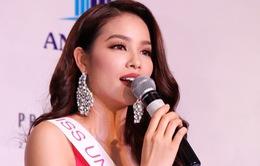 Phạm Hương mang sen vàng tới Hoa hậu Hoàn vũ 2015