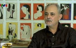 Việt Nam sống động qua tranh của hai họa sĩ Australia