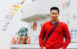 BTV Hoa Thanh Tùng bén duyên nghề báo vì... thần tượng NB Lại Văn Sâm