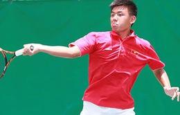 Lý Hoàng Nam chiến thắng vòng 1 giải Thái Lan F2 Futures