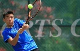 Lý Hoàng Nam giành 2 chiến thắng đưa Việt Nam vào bán kết Davis Cup