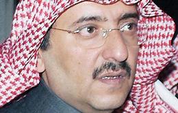 Quốc vương Saudi Arabia chỉ định Hoàng Thái tử mới