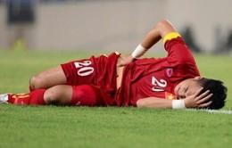Lăn xả trận gặp U23 Hàn Quốc, Hoàng Thịnh mất suất dự SEA Games 28