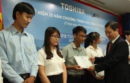 Trao học bổng cho sinh viên cao học của Đại học Quốc gia TP.HCM