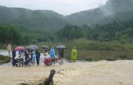 Chưa tìm thấy nạn nhân mất tích do lũ cuốn ở Quảng Nam