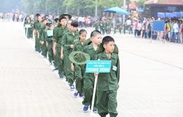 """260 """"chiến sỹ nhí"""" xuất quân tham dự Học kỳ trong quân đội"""