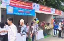 Hàng nghìn người khuyết tật tham gia ngày hội việc làm