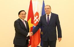 Phó Thủ tướng Hoàng Trung Hải thăm chính thức Slovakia