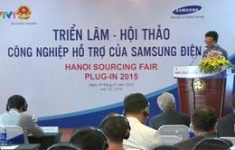 Samsung tìm kiếm nhà cung cấp linh kiện tại Việt Nam