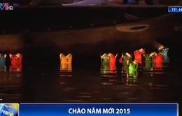 Phố cổ Hội An rực rỡ đèn lồng chào đón năm mới 2015