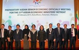 Hội nghị hẹp Bộ trưởng Kinh tế ASEAN lần thứ 21