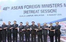 Bộ trưởng Ngoại giao ASEAN thảo luận tiến độ xây dựng cộng đồng chung