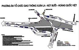Từ ngày 28/11, Hà Nội cấm phương tiện lưu thông trên đường Bưởi