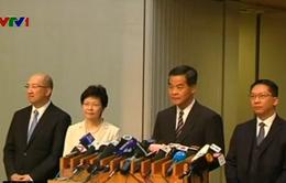 Hong Kong công bố kế hoạch cải cách bầu cử