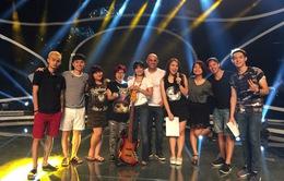 Vietnam Idol 2015: Top 8 hồi hộp chờ đợi kết quả bình chọn của khán giả