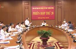 Chủ tịch nước chủ trì phiên họp thứ 20 Ban Chỉ đạo cải cách tư pháp Trung ương
