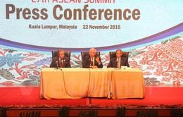 Thủ tướng Malaysia họp báo kết thúc hội nghị cấp cao ASEAN lần thứ 27