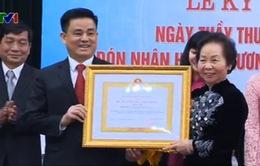 BV Răng Hàm Mặt TƯ Hà Nội đón nhận Huân chương Lao động hạng Nhất