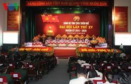 Khai mạc Đại hội Đảng bộ tỉnh Thừa Thiên Huế