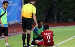 U23 Việt Nam tập kín, Hữu Dũng có thể trở lại ở trậnbán kết