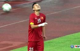 Chấn thương nặng, Huy Toàn vắng mặt trong trận gặp O. Nhật Bản