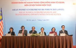 Gần 200 nữ doanh nhân tham gia Diễn đàn Doanh nhân nữ ASEAN 2015