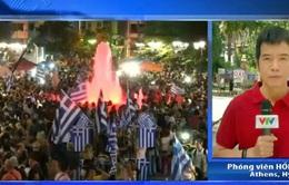 Kết quả cuộc trưng cầu dân ý giúp củng cố vị thế của Hy Lạp