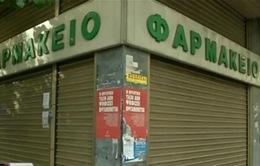 Nhà thuốc Hy Lạp đóng cửa nhằm phản đối chính sách khắc khổ