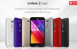 ASUS giảm giá sốc khi mua ZenFone 2 Laser