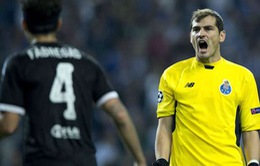 """""""Thánh"""" Iker tự nhận khuyết điểm trong bàn thua của Porto"""