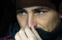 Iker Casillas không quan tâm tới vị trí số 1 tại Real
