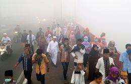 Khói mù do cháy rừng tiếp tục lan rộng tại Indonesia
