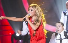 Phương Mỹ Chi gằn giọng, hát nhạc dance khi thành Jennifer Lopez