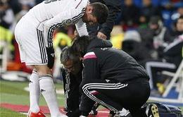 James, Ramos và Marcelo lỡ derby thành Madrid