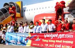 Vietjet Air khai trương đường bay TP.HCM - Chu Lai